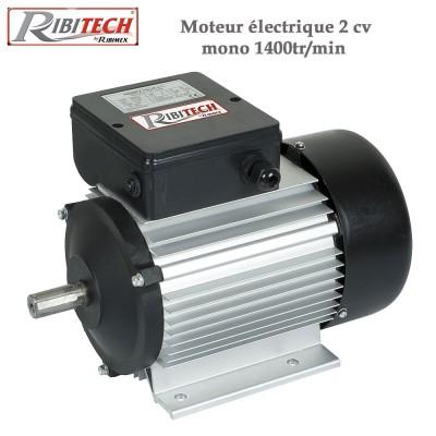 Moteur électrique 2 cv mono 1400tr/min
