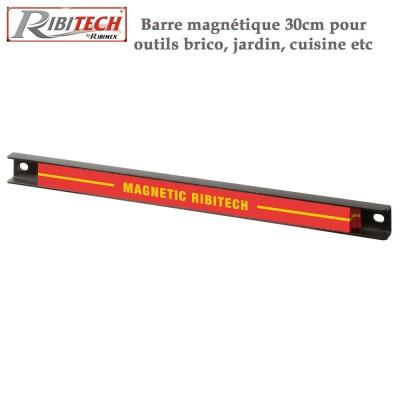 Barre magnétique 30cm pour outils bricolage