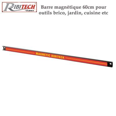 Barre magnétique 60cm pour outils bricolage