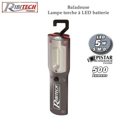 Batterie Baladeuse À Led Torche Lampe 4R5L3jA