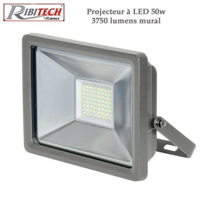 Projecteur à Led 50w 3750 lumens - Mural
