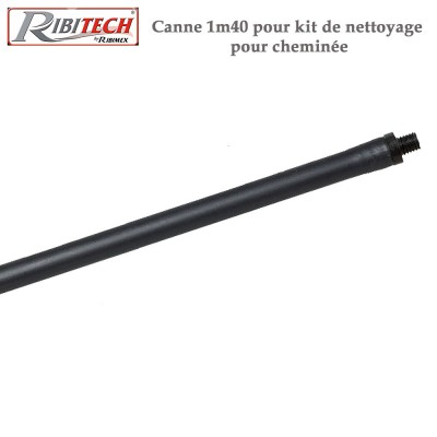 Canne pour kit de nettoyage cheminée 1.40 m