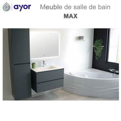 Meuble de salle de bains à suspendre MAX