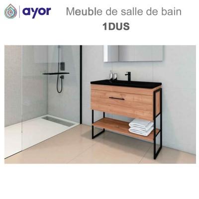 Meuble de salle de bains à poser 1DUS