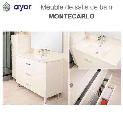 Meuble de salle de bain à poser Montecarlo