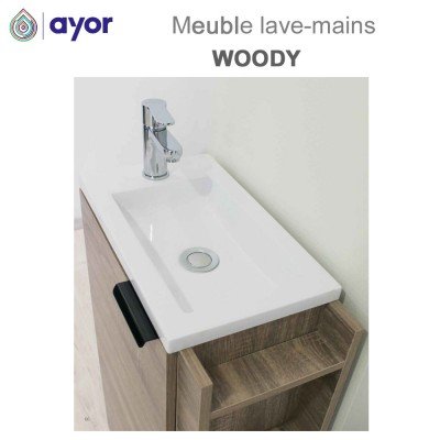 Meuble lave-mains à poser Woody