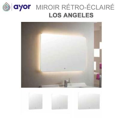 Miroir rétro-éclairé Led Los Angeles