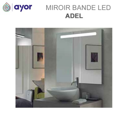 Miroir à large bande Led Adel