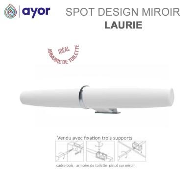 Spot de miroir salle de bain ABS Laurie