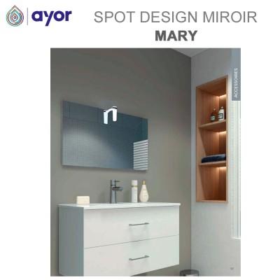 Spot de miroir salle de bain ABS Mary