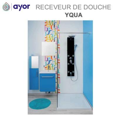 Receveur de douche à poser acrylique Yqua