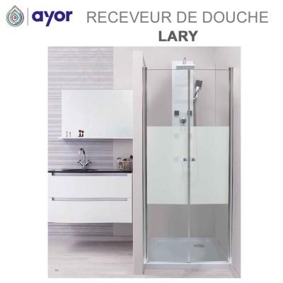 Receveur de douche à poser acrylique Lary