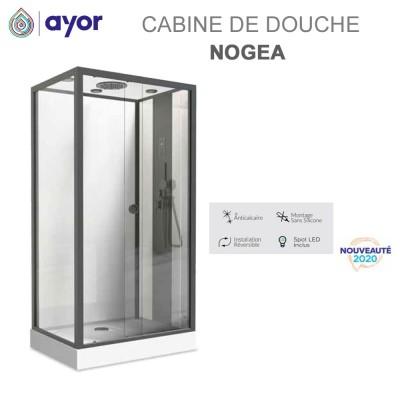 Cabine de douche Hydro Nogea 120x80 cm