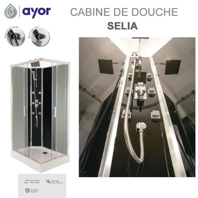 Cabine de douche Hydro Selia 110x80 cm