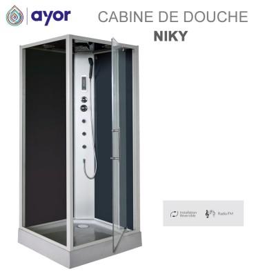 Cabine de douche Niky - 90 x 90 - Hydro