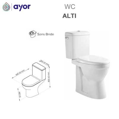 WC à poser Alti sans bride