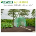 Serre de jardin maraîcher - H200 x 200 x 200 cm