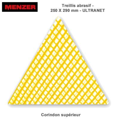 Abrasif triangulaire 250X290 mm Ultranet 5 ou 25 pièces