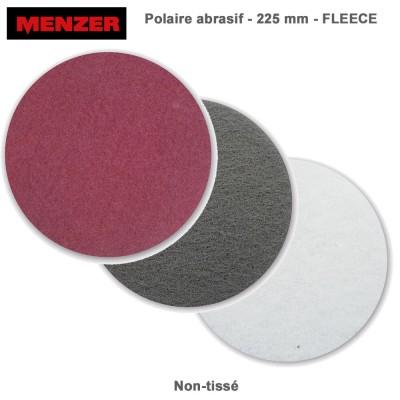 Disque abrasif  225 mm Fleece 10 pièces