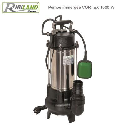 Pompe à eau de relevage système Vortex 1500 W