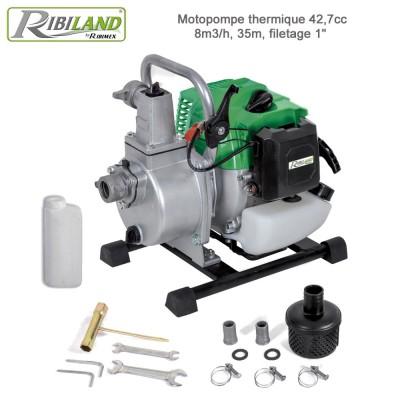 Motopompe portable 42,7 cc
