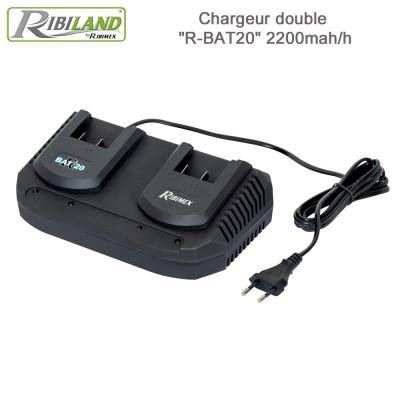 Chargeur double R-BAT20