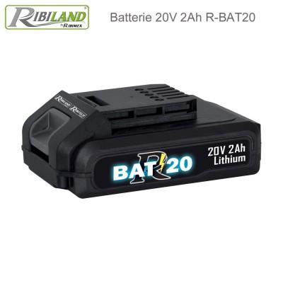 Batterie 20V - 2Ah - R-BAT20