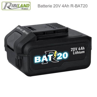 Batterie 20V - 4Ah - R-BAT20