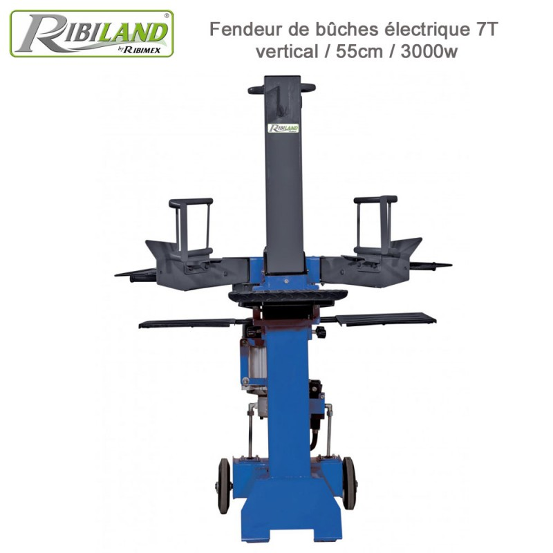 Fendeur de bûches électrique 7 T - 3000w