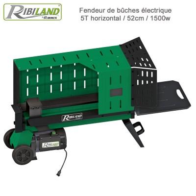 Fendeur de bûches électrique 5T horizontal / 52cm / 1500w