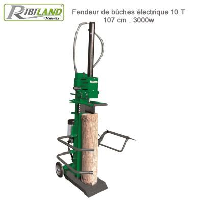 Fendeur de bûches électrique 10T vertical / 106cm /3000 W