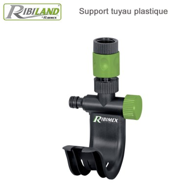 Support robinet pour tuyau avec raccord