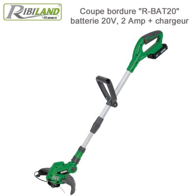 Coupe-bordures sans fil R-BAT20 V - 2 Ah