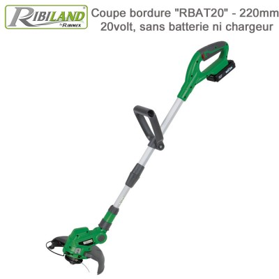 Coupe-bordures sans fil R-BAT20 (sans bat)