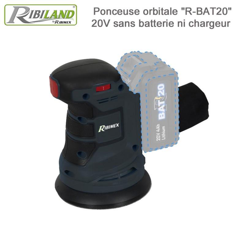 Ponceuse orbitale sans fil R-BAT20