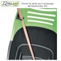 Bac à roulettes de ramassage déchet vert
