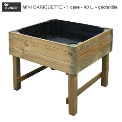 Carré potager bois Mini Gariguette