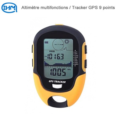 Altimètre multifonctions - Tracker GPS 9 points