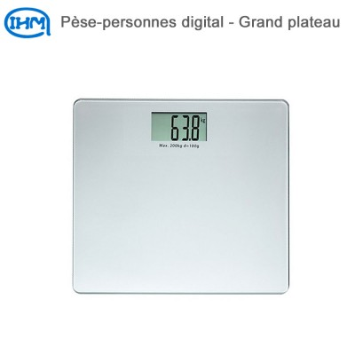 Pèse-personnes digital - Grand plateau