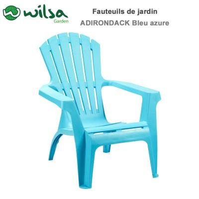 Fauteuil Adirondack Bleu azure