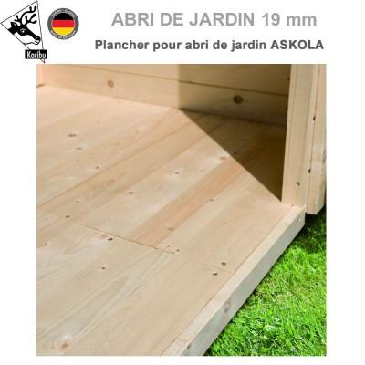 Plancher bois pour abri de jardin Askola