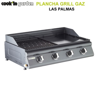 Barbecue plancha Las Palmas à poser