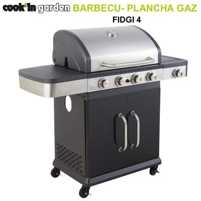 Barbecue gaz mixte Fidgi 4