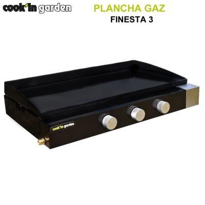 Plancha 3 feux à poser Finesta 3