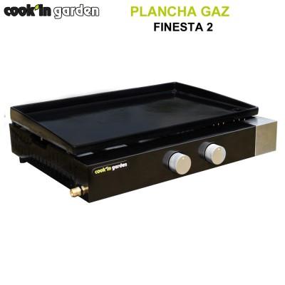 Plancha 2 feux à poser Finesta 2
