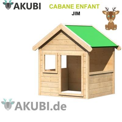 Maisonnette bois de jardin enfant Jim