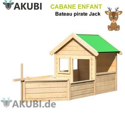 Cabane en bois enfant pirate Jack