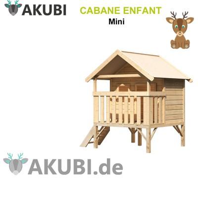 Cabane en bois enfant Mini