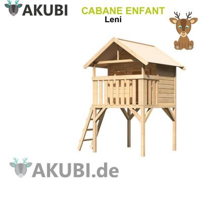 Cabane en bois enfant Leni