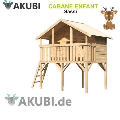 Cabane en bois enfant Sassi